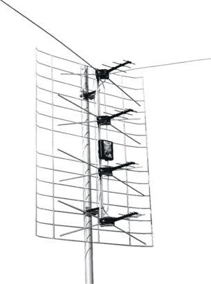 По схеме: активная антенна